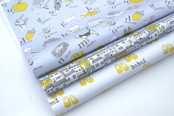 Irish wrapping paper